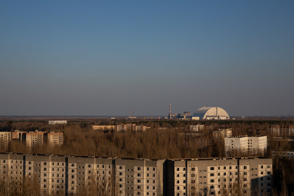 Pripyat and the Power Station