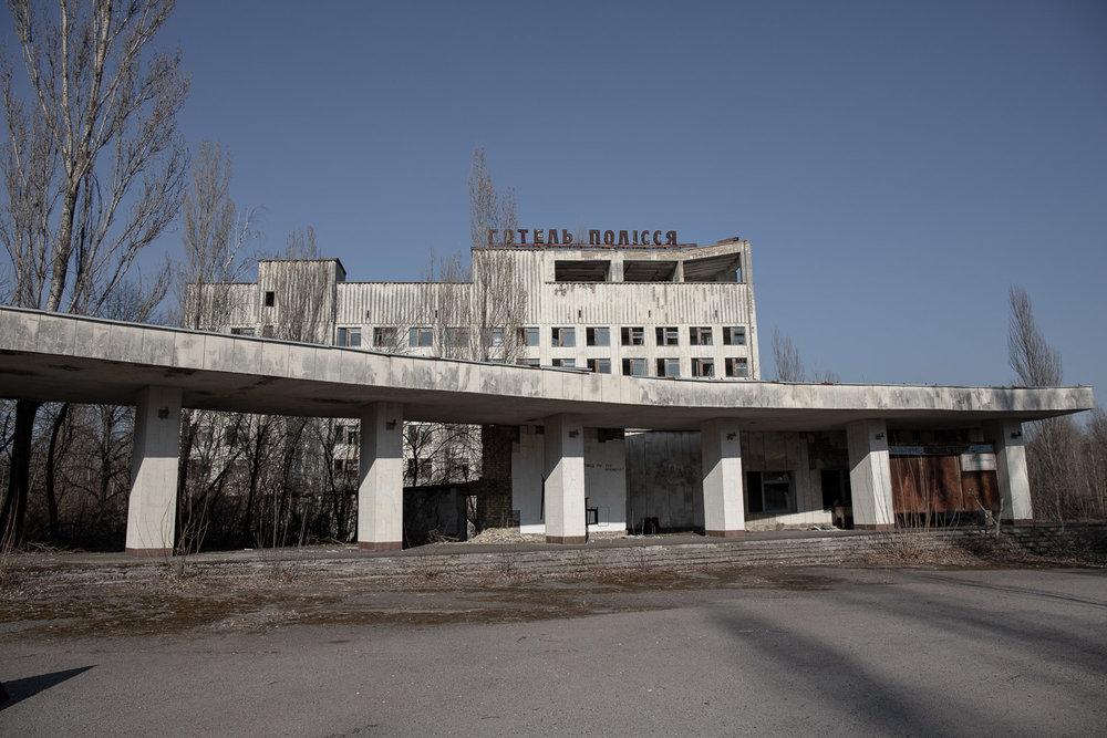 Pripyat city centre