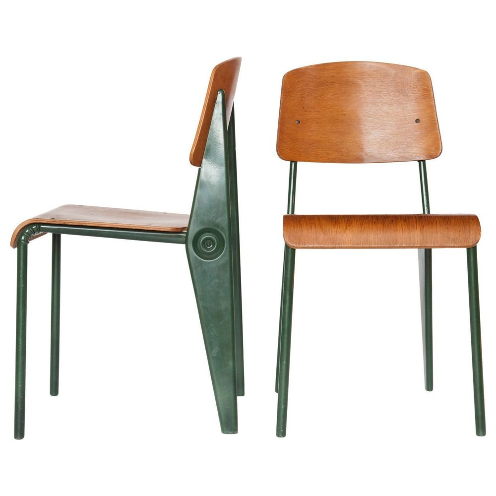 Jean Prouve chairs by 1st dibs