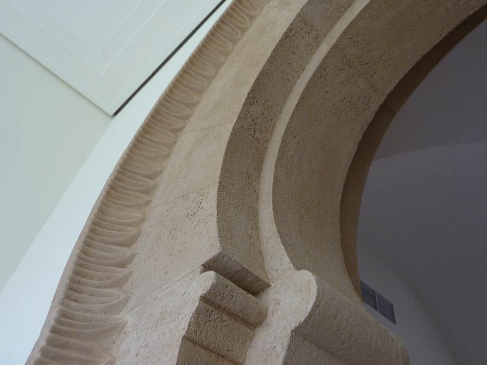 Custom designed Archway with a rough stone texture – Saudi Arabia
