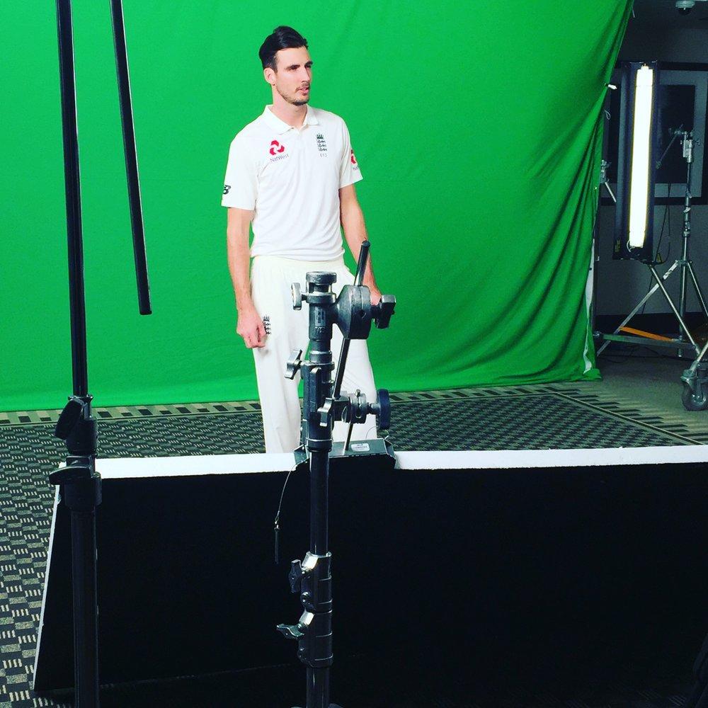 England Cricket Team - Jessica Hawkins Make-Up