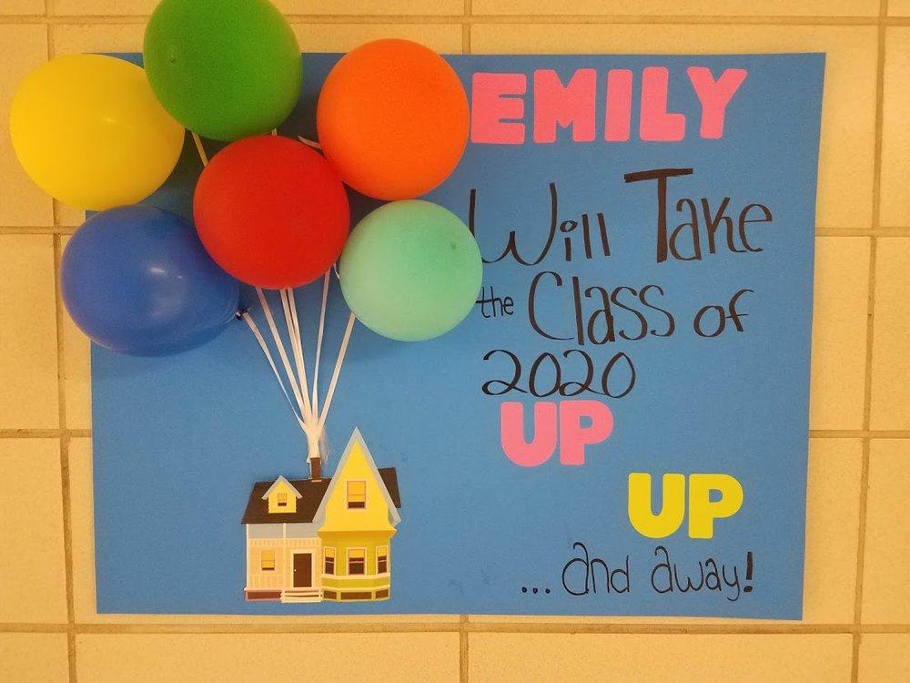 1st Place:  Emily Miller, OG Junior