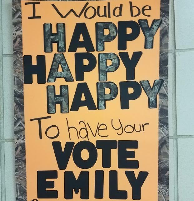 2nd Place:  Emily Miller, OG junior