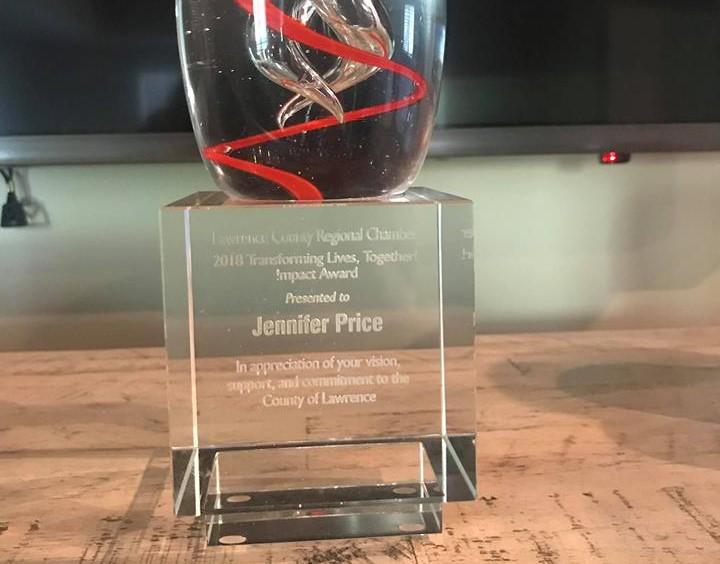 Award:  Transforming Lives