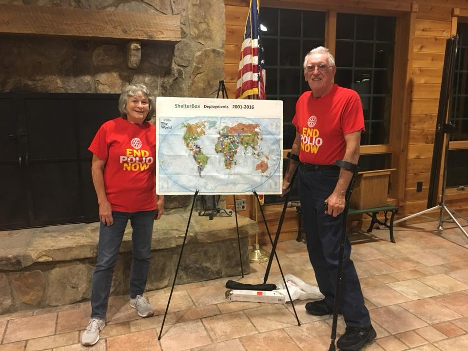 Tom and Marie Grant,  Rotary District 7280