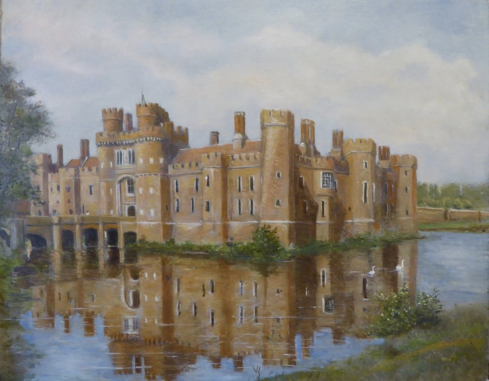 HERSTMONCEUX CASTLE   8 x 10 inches -  £185
