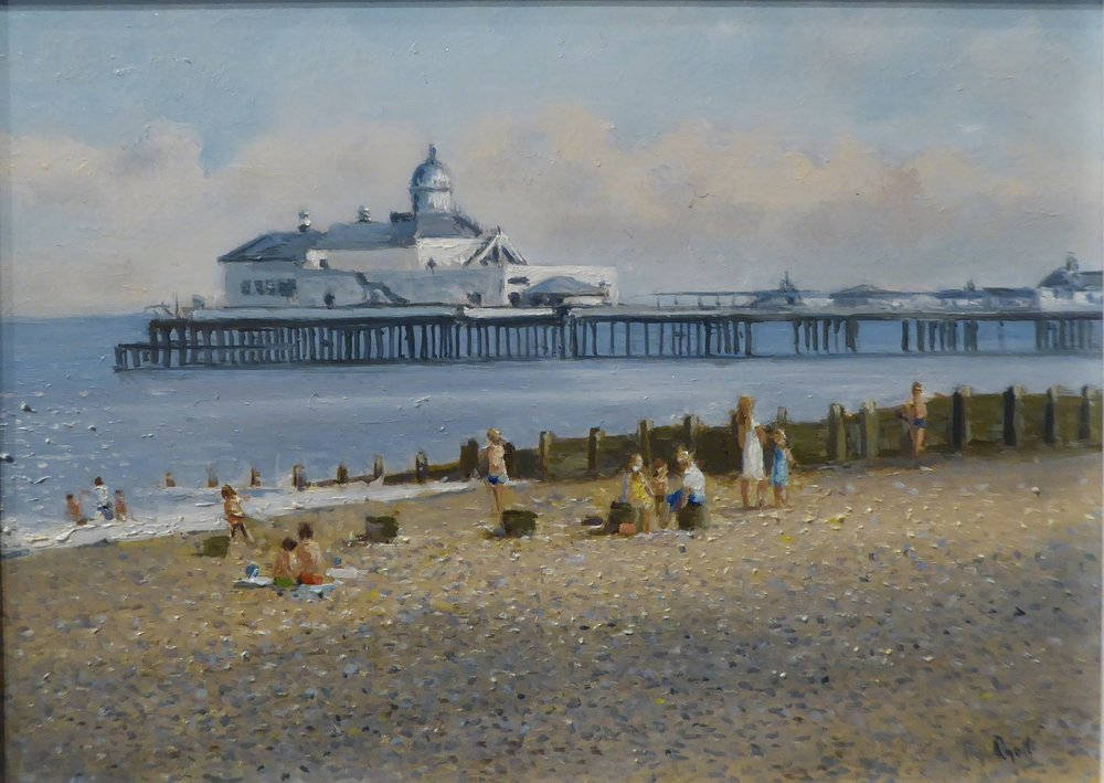 EASTBOURNE HOLIDAY    6 x 8 inches -  £  175