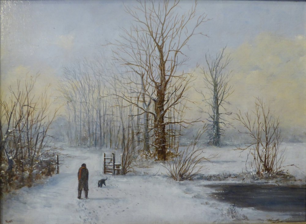 Snow Scene    14 x 10 inches -  £375