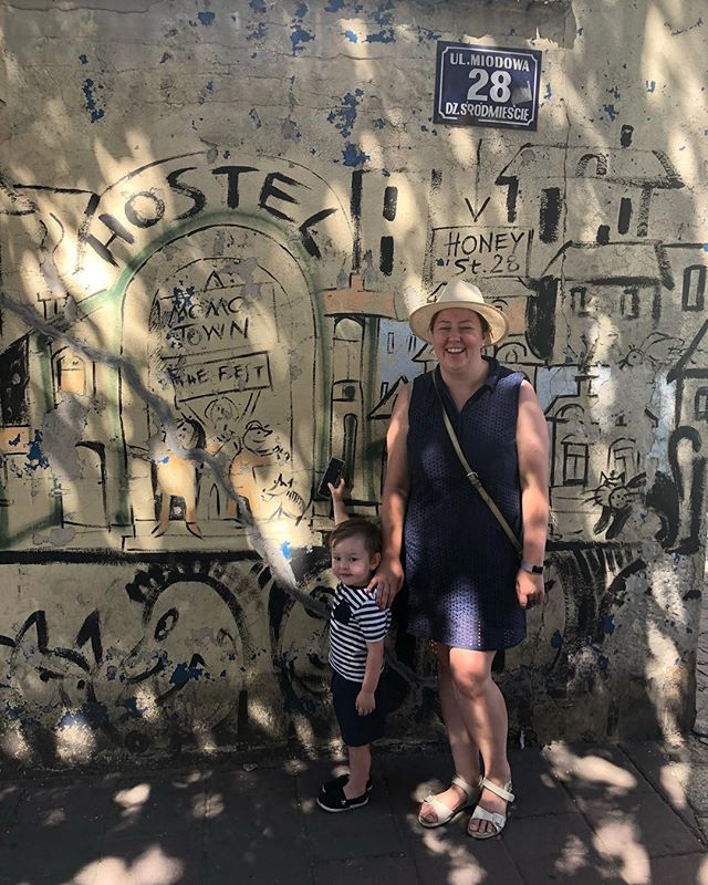 """Look Awkward"" he said —— Me ""Ok dude I've got that look nailed""..... #krakow #graffitiart #worstinstamumever #thiswelshmother #thiswelshmothertravels"