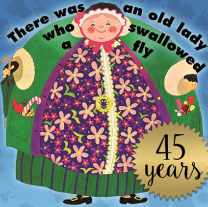 There was an old lady - Who swallowed a fly