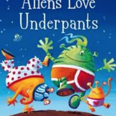 Aliens love underpants - Porthcawl