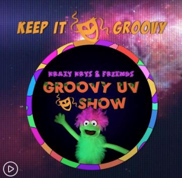 Groovy UV Show - Pavillion Easter Extravaganza