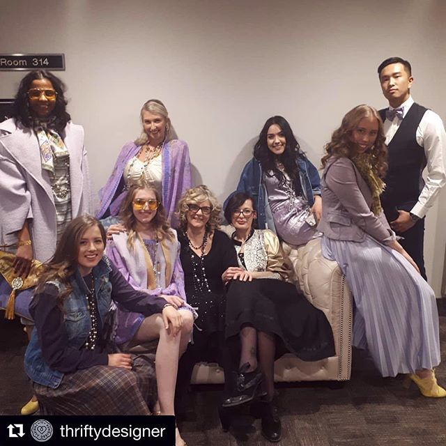 In a purple paradise with @thriftydesigner 💜 Tag us #styleatmac #statera  #Repost ・・・ Done!...What a Show!  Thank you @styleatmac for Inviting Us  #thriftydesigner #hamont #spendithere #shoplocal #thevillage #thrifty #modify #upcycle #frugal #womenwear #womensfashion #menswear #mensfashion #hamiltondesigner #hamiltonfashion #sivonedesigns