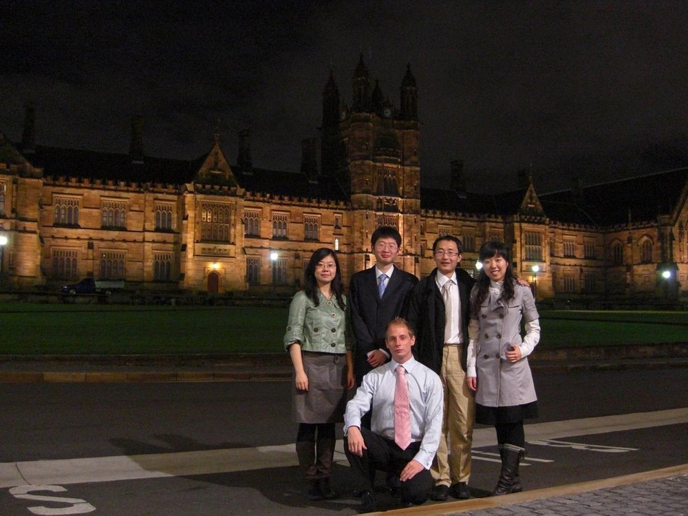 Our Managing Director, who studied at Sydney University