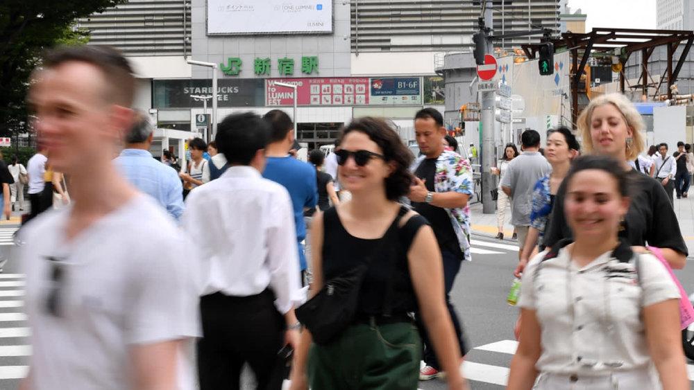 Khoảng 42.000 người nước ngoài đang sinh sống ở khu vực Shinjuku của thủ đô Tokyo, Nhật Bản. Ảnh:  Nikkei