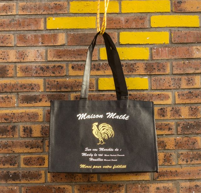 Le Sac de Pub de la maison Mathé 🐔❣️Une production @sacdepubofficiel  #tote #bag #shopping #instagood #handbag #baglovers #sacdepub