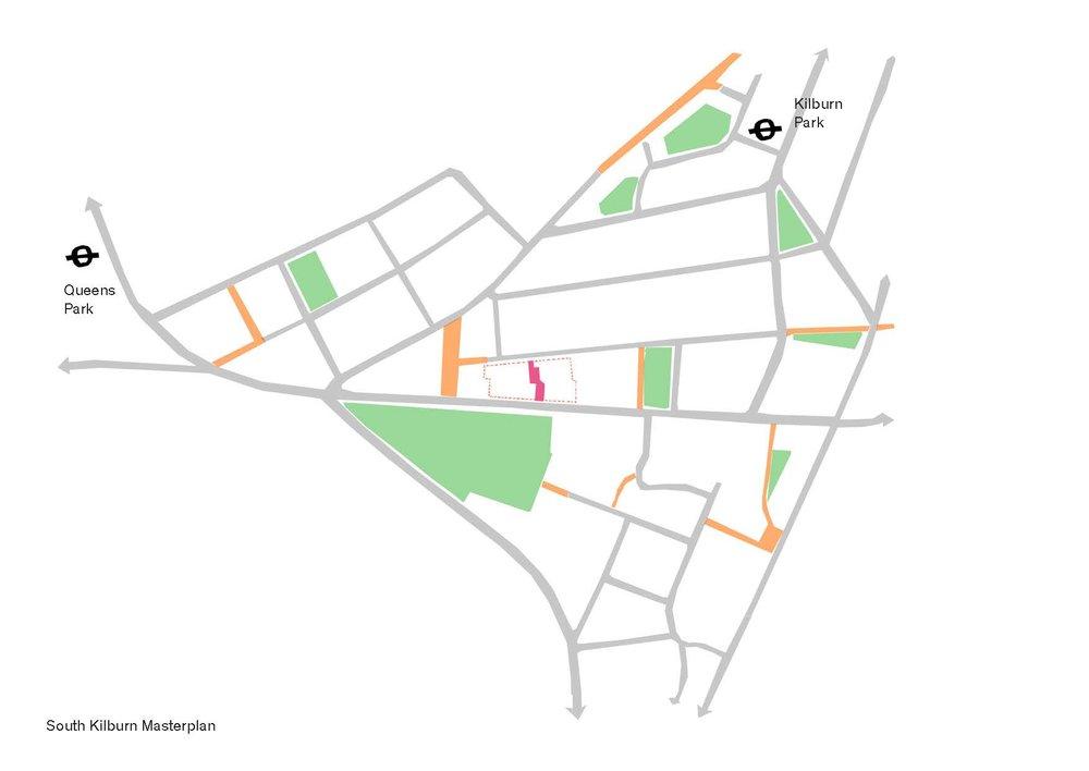 Carlton & Granville site in the South Kilburn Masterplan