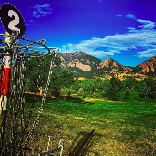 Harlow Platts DGC, Boulder, Colorado.
