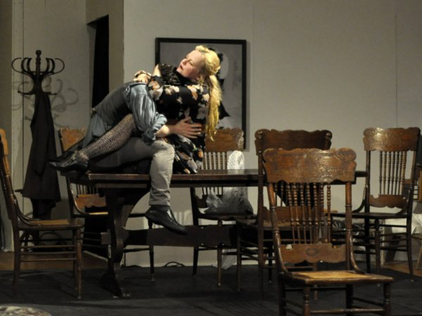 Kristen Vaughan in The Seagull - Stage Play