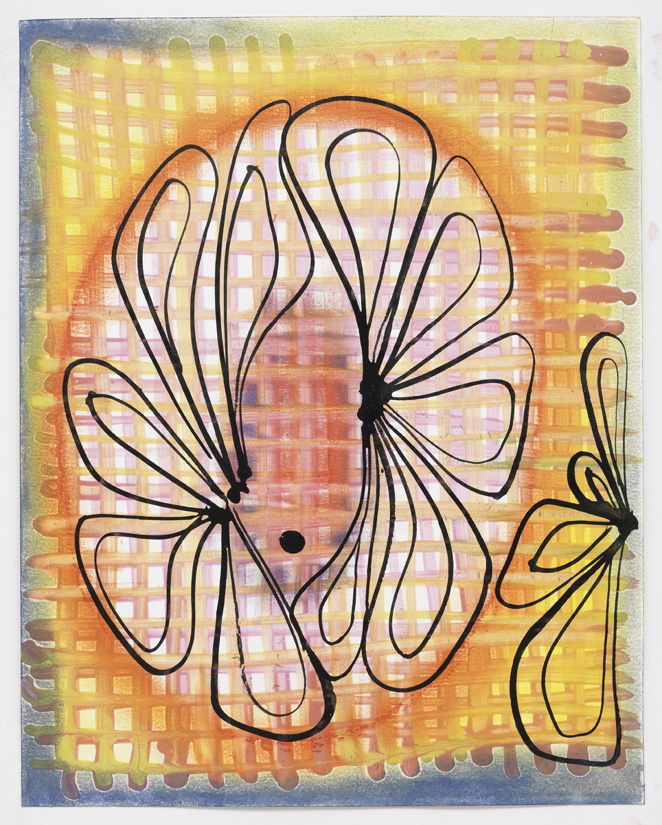 "Gouache, ink, and pastel on paper  9.5""x 12"" 2010"