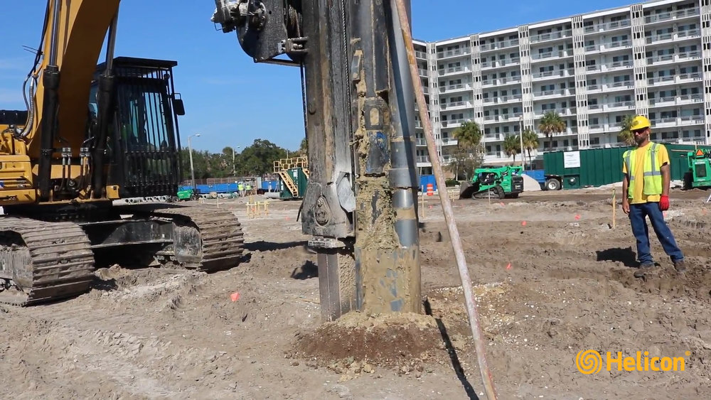 Vibro Process Strengthens Soil for Structure Foundation