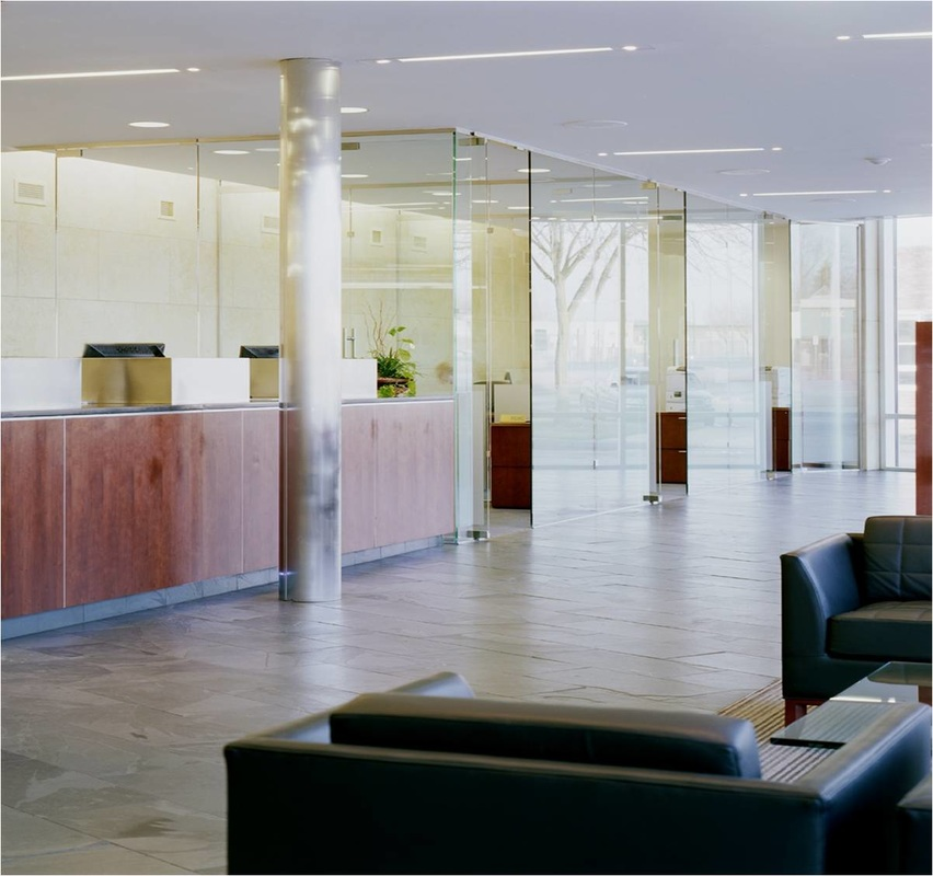 Bank of Birmingham - Interior design, finish and furniture standards for newly established bank in Michigan.