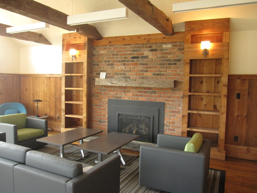 Pre-Civil War Log Cabin Study Center - Interior design, finishes and furniture standards or complete renovation of a pre-Civil War log cabin to be utilized by five surrounding universities.