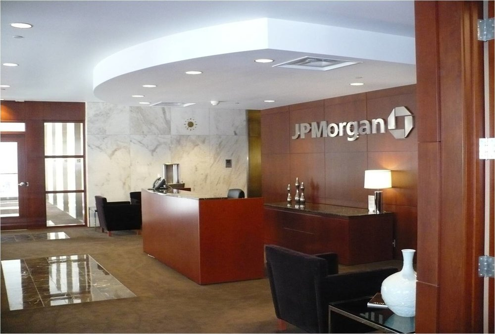 JP Morgan Chase Bank -  Complete design, renovation and project management of all retail and corporate office facilities throughout the state of Michigan.