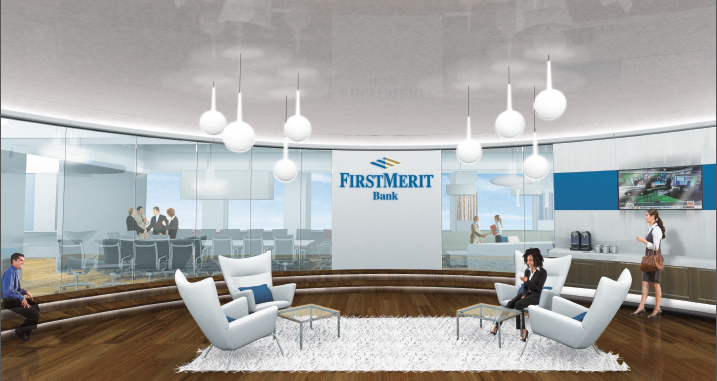 First Merit Bank - Programming, prototypes and design for new headquarters and office relocation to Southfield, Michigan