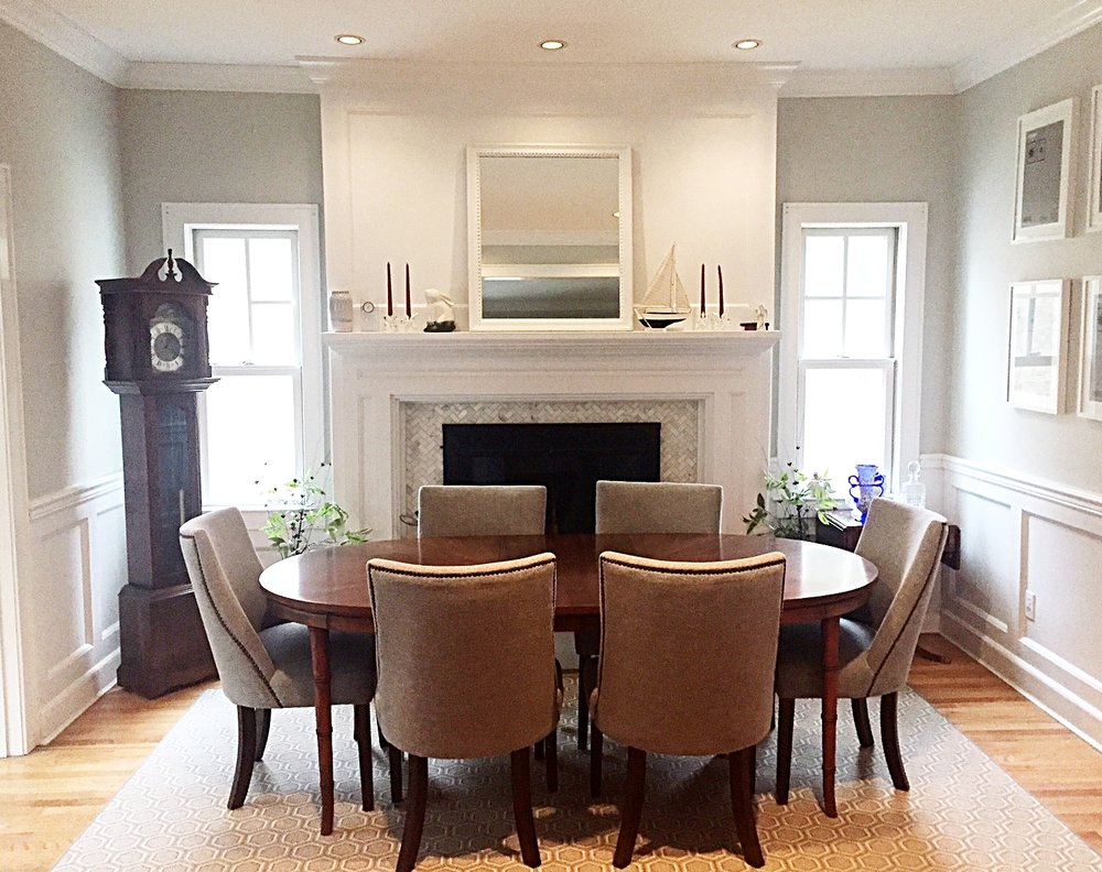 After- an inviting Dining Room