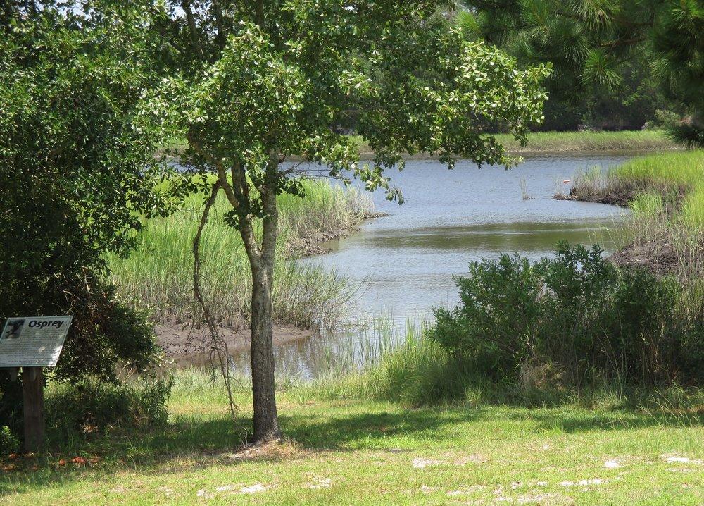 Dutchman Creek with Osprey Sign