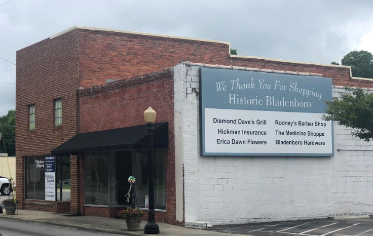Small business owners support downtown Bladenboro.