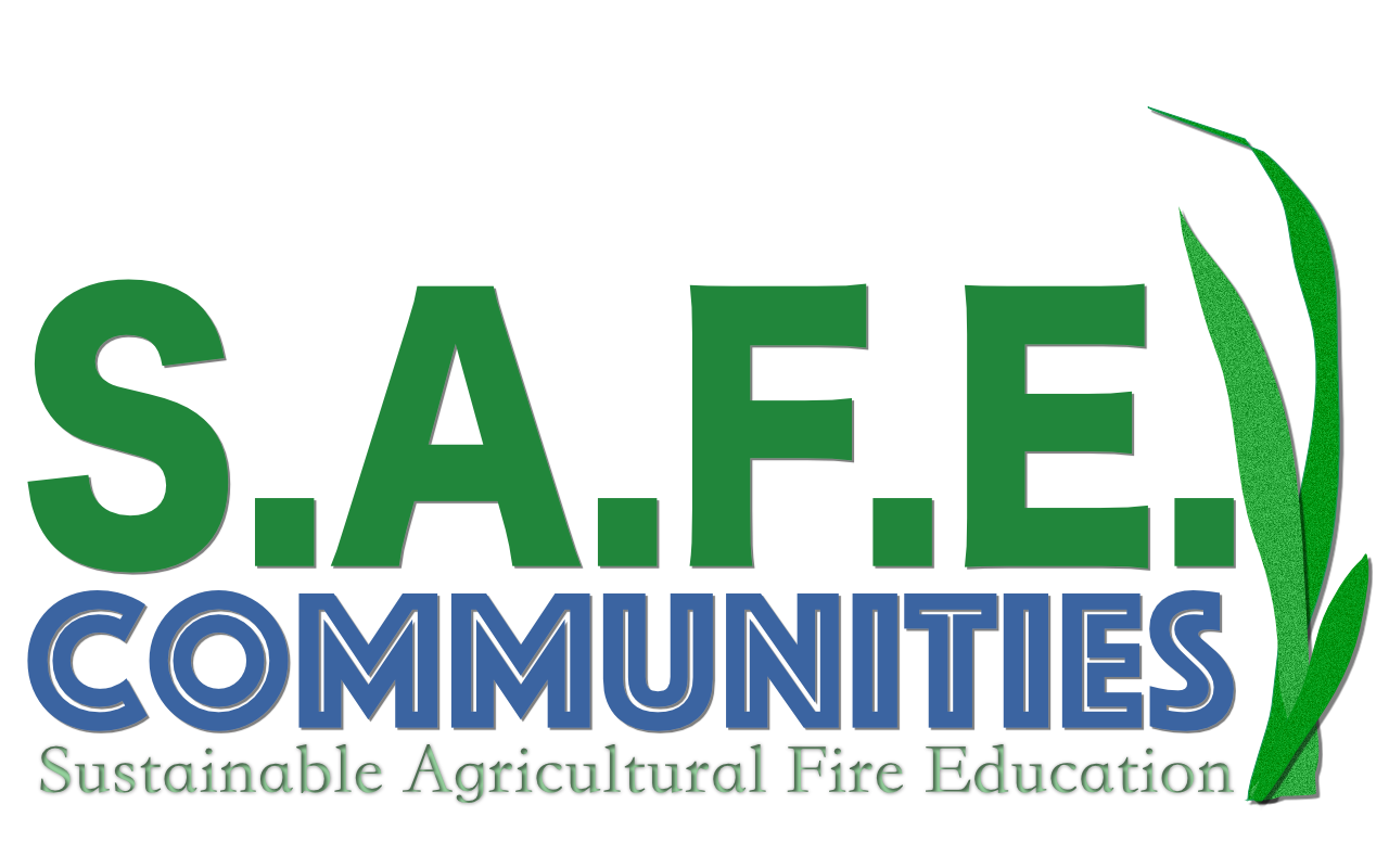 SAFE: Sustainable Agricultural Fire Education