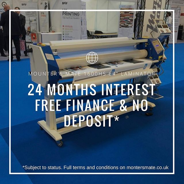 This months @mountersmate offer! #wideformat #largeformatlaminator #wideformatprinting #wideformatlaminator #graphicdesign #printfinishing