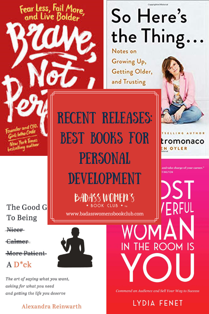 Recent Releases: Best Books for Personal Development