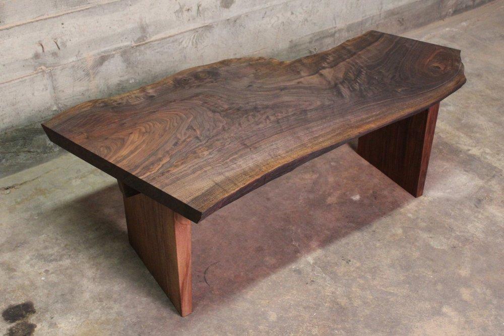 Walnut Coffee Table - A 51