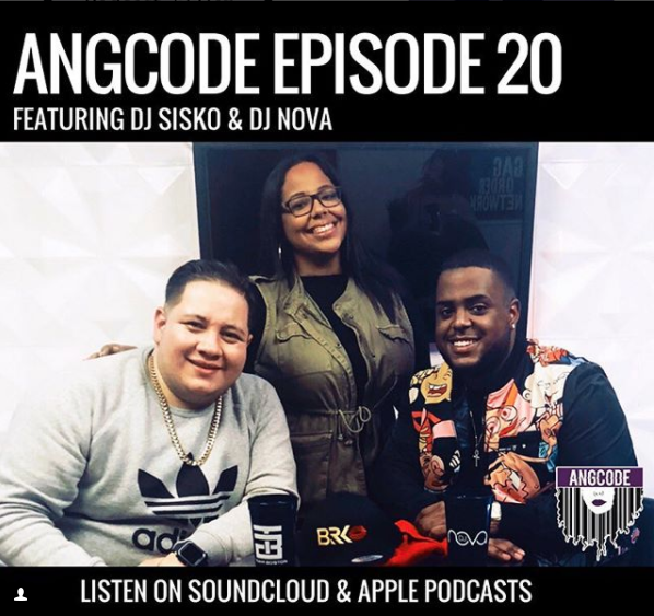 angcode_ YERRRRRR 🗣 EP 20 is out NOW! Go tune in and listen to me interview  @djsisko  &  @djnova  🔥 We also answer your anonymous questions with  @bry_lael about the club scene, self-confidence,  #Safaree  and his nude video 👀 & more!!!