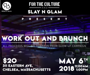 WorkOut And Brunch - For The Culture Media partnered with Results Boston
