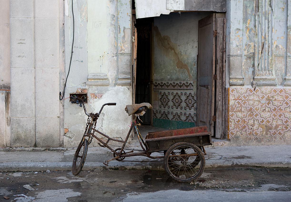Cuban deliverybike © Torben Raun/Artsalon Kyas