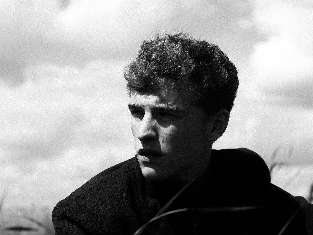 Erik van Seventer op Pampus eiland, augustus 2017 © Willem Sizoo