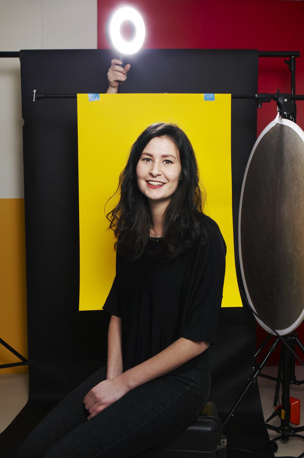 Alyssa Mahler, Projectmanager bij voordekunst door Jan-Dirk van der Burg (fotograaf des vaderlands)