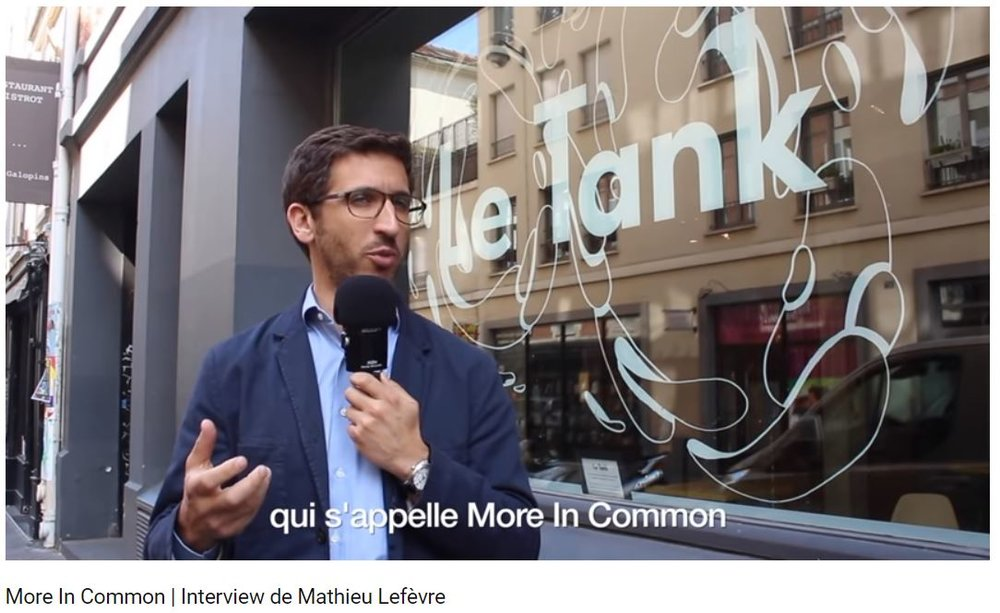 More In Common | Interview with Mathieu Lefèvre