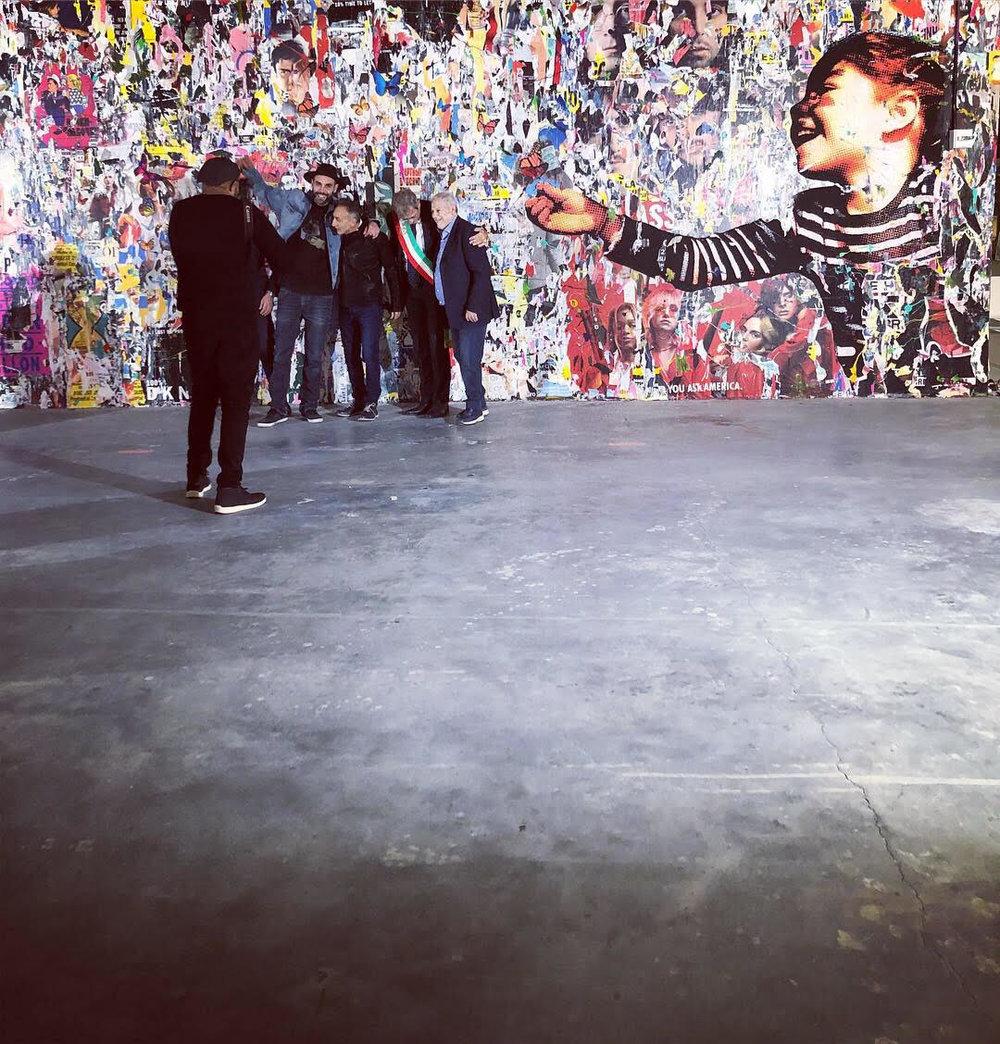 Nello Petrucci Opening Essence of Lightness Film Collage World Trade Center.jpg