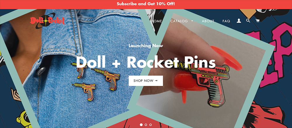 Doll and Rocket Shopify eCommerce Site Design FULL 1.png
