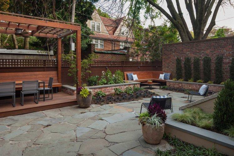 Backyard And Patio Design Brooklyn Nyc