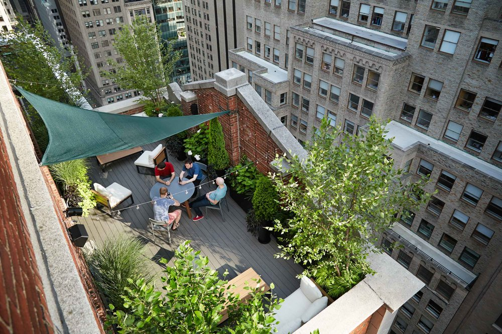 Superieur Midtown Manhattan NYC Rooftop Garden
