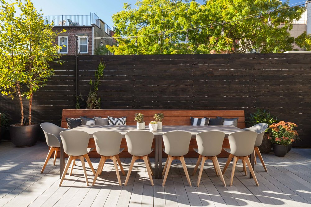 COBBLE HILL CONTEMPORARY ROOFTOP DESIGN & Rooftop Garden Design | NYC | Brooklyn