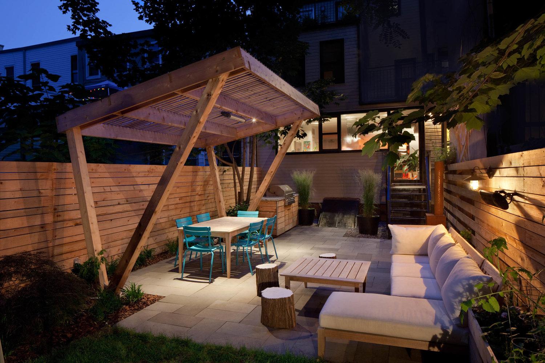 Garden Lighting & Installation   NYC   Brooklyn