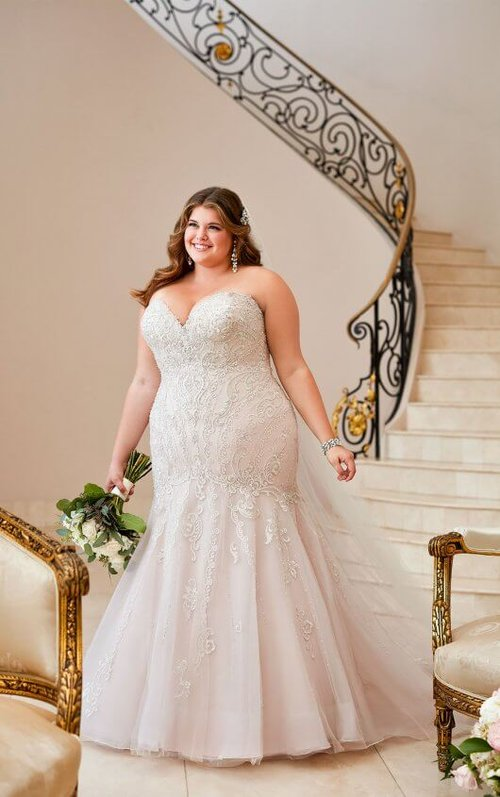 Plus Size Pure Bliss Bridals