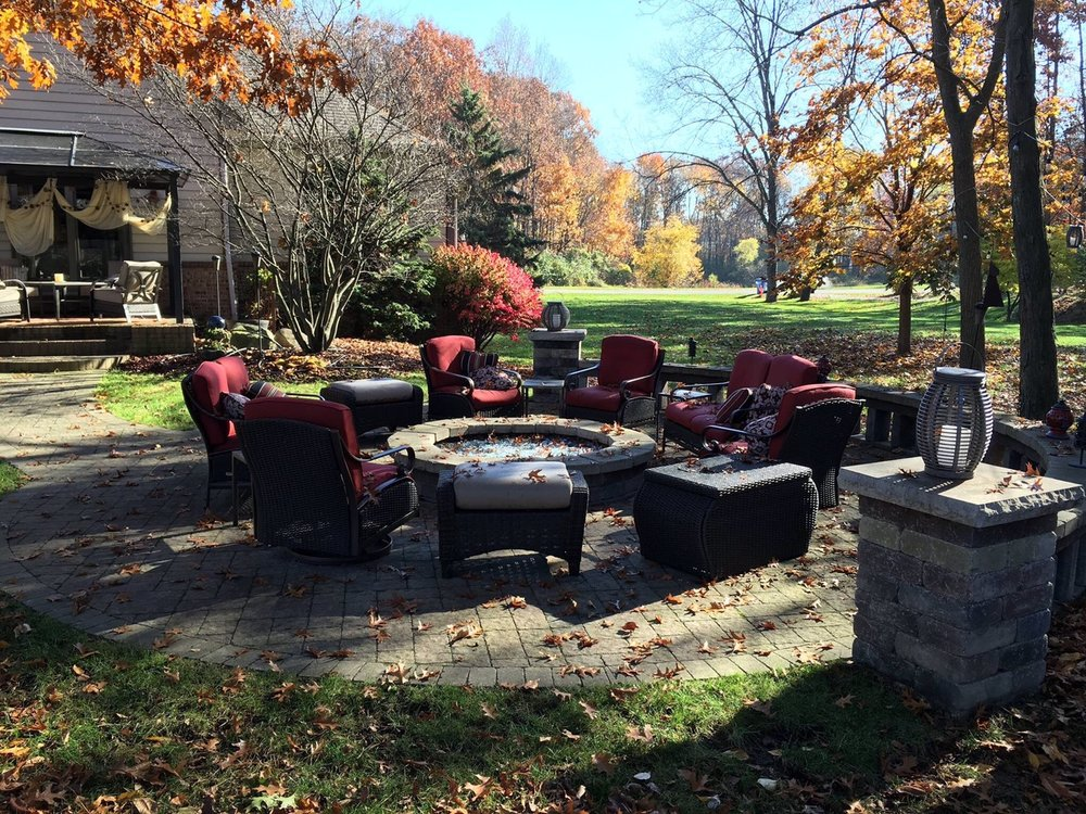 Brick paver patio and walkway work in Livingston County, MI